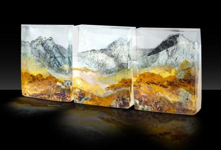 Kate Pasvol, Snowdon Horseshoe Triptych