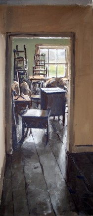 Matthew Wood, F.E. Anderson Antiques, Welshpool - View to a Store Room