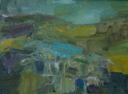 Elaine Preece Stanley, Welsh Slate Wall