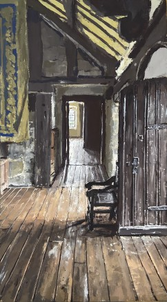 Matthew Wood, Gwydir Castle - View from the Hall of Meredith