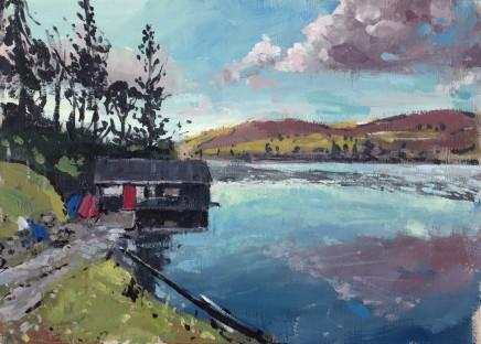 Matthew Wood, Lake Vyrnwy, Boat House