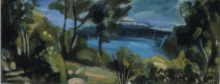 Elaine Preece Stanley, Garden and Pier, Llandudno