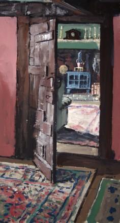 Matthew Wood, Cwrt Plas yn Dre - View to the Living Room