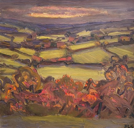 David Lloyd Griffith, Autumn Evening, Dyffryn Dulas