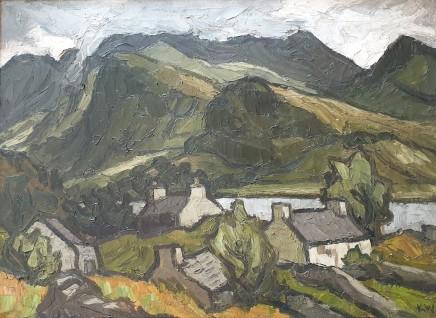 Kyffin Williams, Llyn Padarn, c1960
