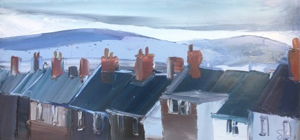 Sarah Carvell, Winter Roofs