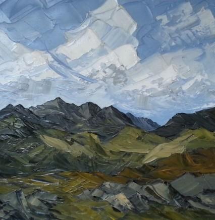 Martin Llewellyn, Snowdon from Moel Siabod