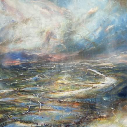 Iwan Gwyn Parry, The Mawddach Estuary with Sea Mist