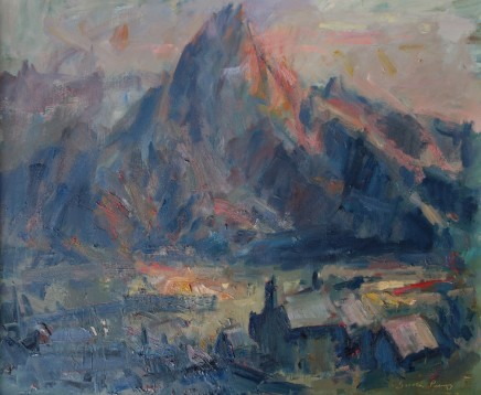 Gareth Parry, Farm Hill & Mountain (Tryfan) - Evening
