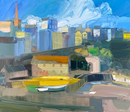 Sarah Carvell, Brightness on the Boats, Tenby