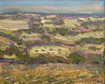 David Lloyd Griffith, A Hot Day in July - Above Llansannan