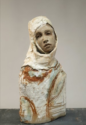 Sharon Griffin, Girl in a Headscarf