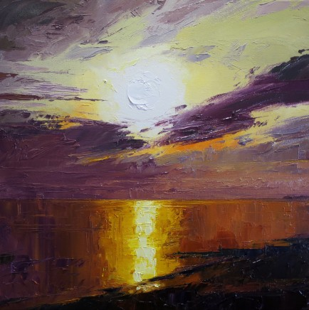 David Grosvenor, Sunset, West Beach, Criccieth II
