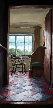Matthew Wood, The Mill House. View from the Stairs I