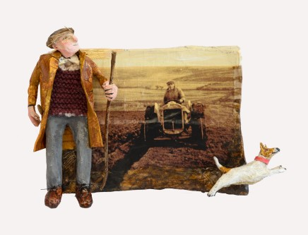 Luned Rhys Parri, Y Ffermwr, Y Tractor a'r Ci / The Farmer, the Tractor and the Dog
