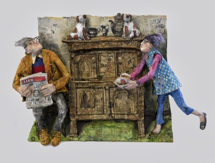 Luned Rhys Parri, Hen, Hen Gwpwrdd / A Very Old Cupboard