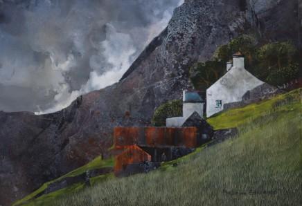 Malcolm Edwards, Overcast near Corris