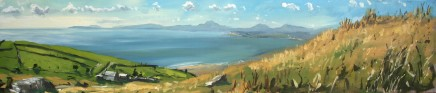 Matthew Wood, Tremagoc Bay and the Llyn Peninsula from near Harlech