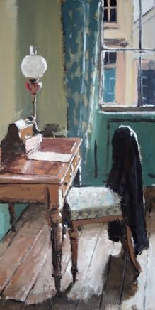 Matthew Wood, The Judge's Lodging - Desk