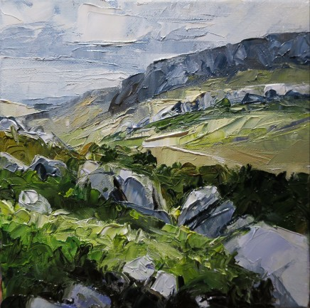 David Grosvenor, Gallt yr Ogof, Ogwen Valley, Snowdonia
