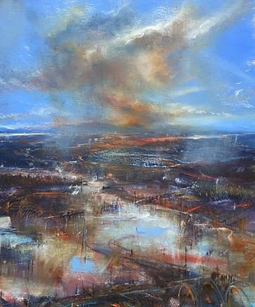 Iwan Gwyn Parry, Last Shower over the Estuary (Cymyran Bay, Anglesey)