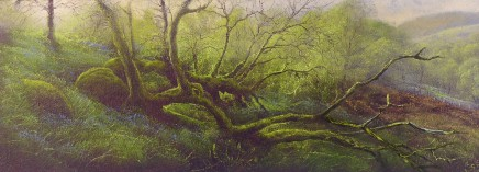 Gerald Dewsbury, Come Play the Trees - Study