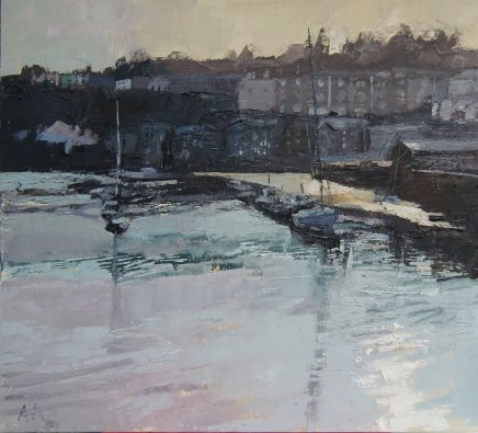 Anne Aspinall, Light on the Harbour, Porthmadog