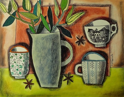 Susan Gathercole, Lillies and Teacups