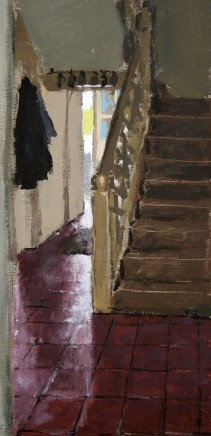 Matthew Wood, View to the Staircase and Backdoor, Delbury Hall
