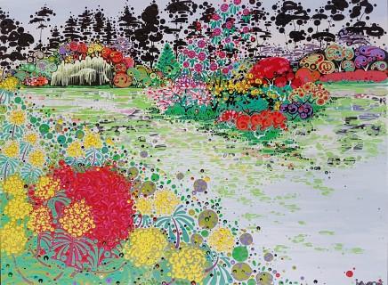 Katie Allen, Spring Gardens, Bodnant