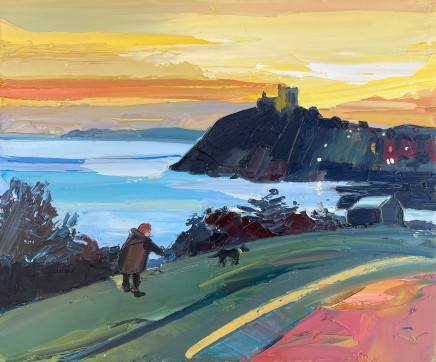 Sarah Carvell, Dog Walker, Criccieth