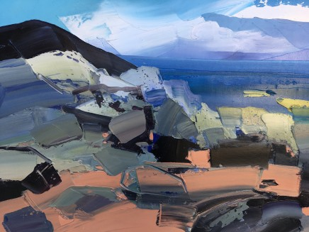 Sarah Carvell, Rocks, Kinnagoe Bay