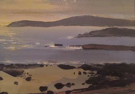 Sarah Carvell, Sunset, Criccieth