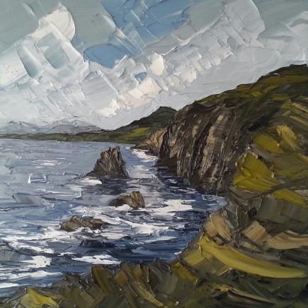 Martin Llewellyn, Coastal Cliffs, Morfa