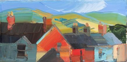Sarah Carvell, Low Sunlight on Garfield Terrace