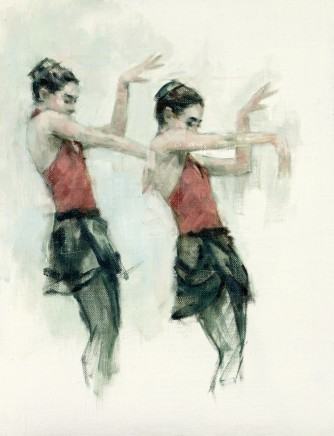 Carl Chapple, 'Juliet' - Danila Marzilli rehearsing Romeo a Juliet (Ballet Cymru Rehearsal 162)