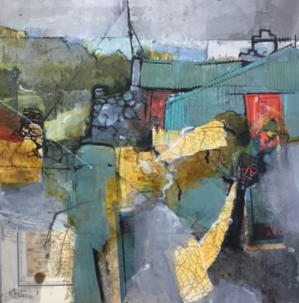 Pete Monaghan, Blue Barn, Red Doors