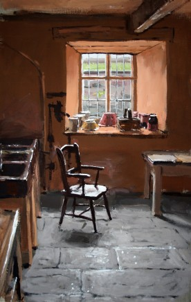 Matthew Wood, Kitchen with Chair
