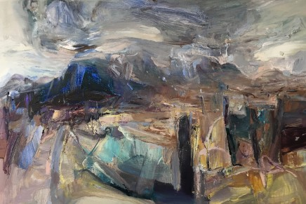 Beth Fletcher, Study for 'Between the Weather and the Rocks'