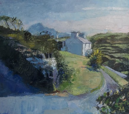 Anne Aspinall, House by the Sea, Criccieth