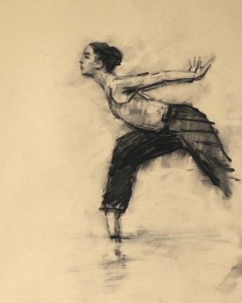 Carl Chapple, Risa Yokoyama (Ballet Cymru Rehearsal 208)