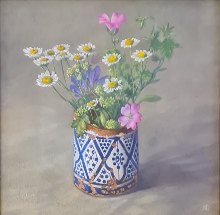 Kim Dewsbury, Moroccan Pot in July
