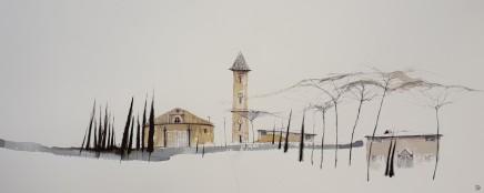 Dewi Tudur, Ger Siena / Near Siena