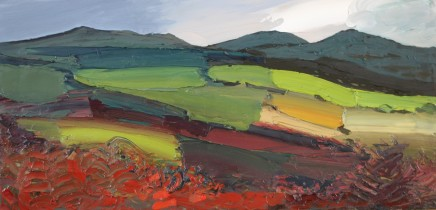 Sarah Carvell, Fields Beneath the Clwydians