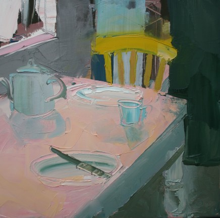 Sarah Carvell, Bywyd Llonydd hefo Tebot Mawr / Still Life with Big Teapot