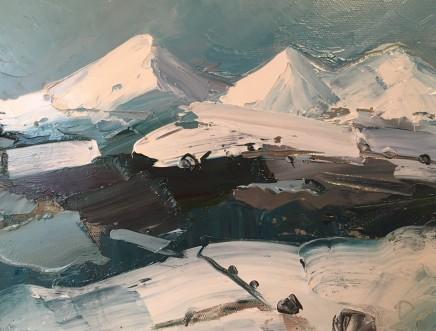 Sarah Carvell, Three Snowy Peaks