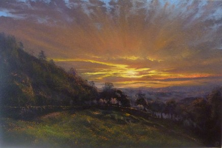 Gerald Dewsbury, Sky on Fire