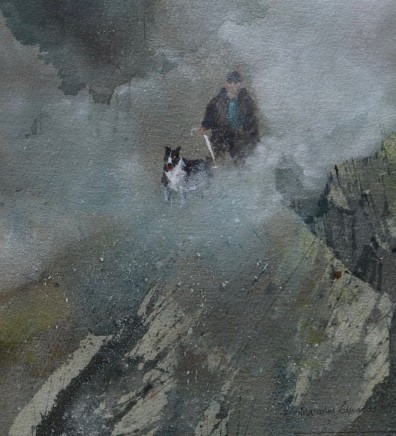 Malcolm Edwards, Heavy Mist, Snowdon Edge
