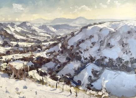 Matthew Wood, The Breiddens from near Lake Vyrnwy