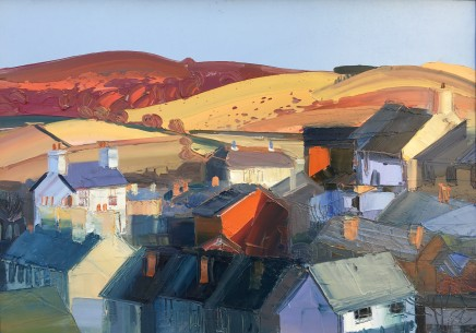 Sarah Carvell, Townscape and Scorched Landscape